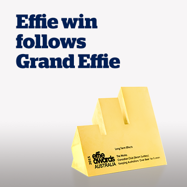 Effie Win Follows Grand Effie